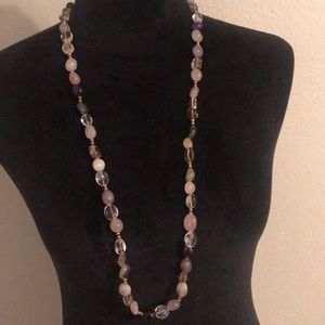 Jewelry - Agate long necklace